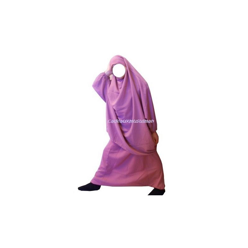 jilbab sarouel fille