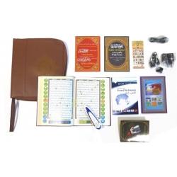 Coran électronique pochette cuir