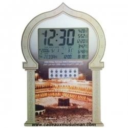 Horloge adhan 5 voix