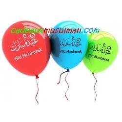 """10 Ballons """"Aïd Moubarak"""""""