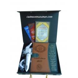 Coran électronique grand format en cuir