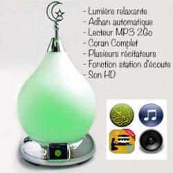 Lampe MP3 avec athan et Coran