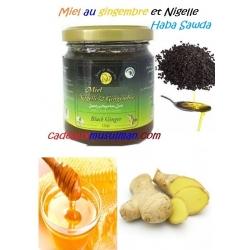 Miel nigelle et gingembre 250g
