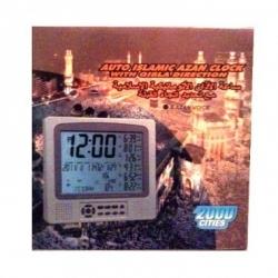 Horloge adhan 8 voix 2000 villes