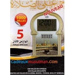 Horloge Adhan avec Roqya