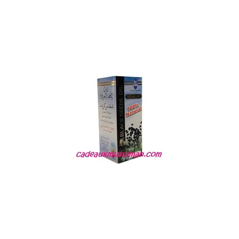 Huile de graine de nigelle - Hemani - 60ml