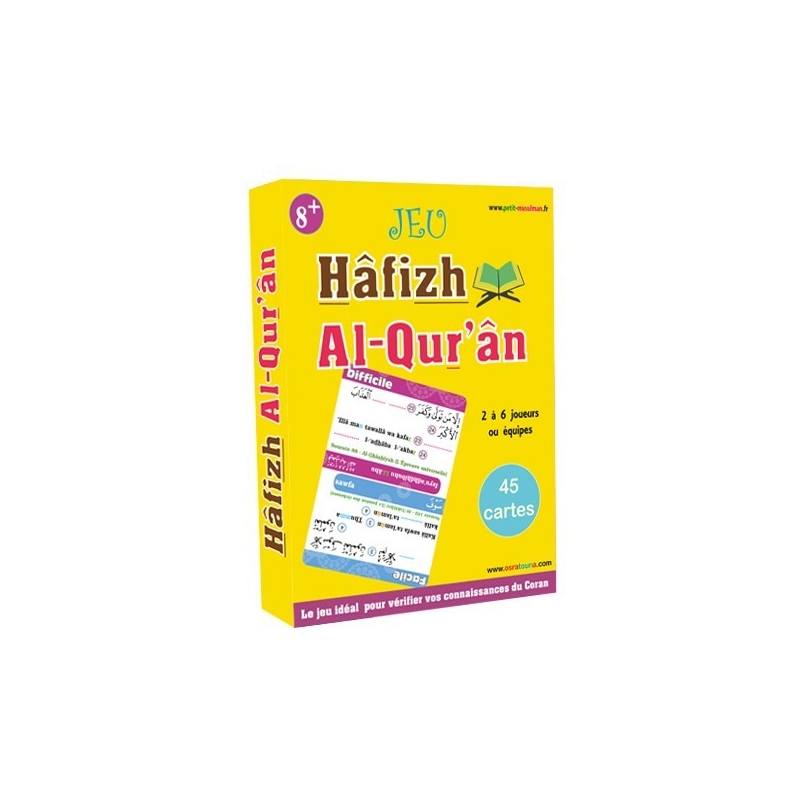 Jeu de carte Hâfizh Al Qur'ân