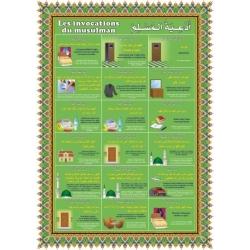 Poster: Les invocations du musulman