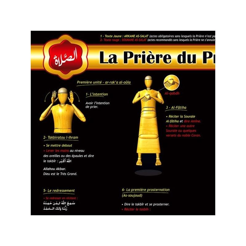 Poster Prière du Prophète (saw)