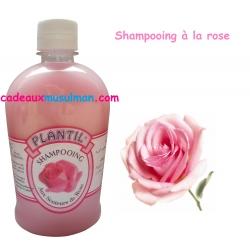 Shampooing à la rose