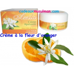 Crème Assila à la fleur d'oranger