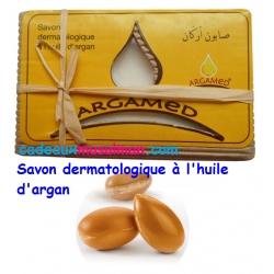 Savon dermatologique à l'huile d'argan