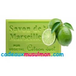 Savon de Marseille au citron vert