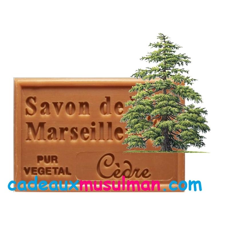 Savon de Marseille bois de cèdre