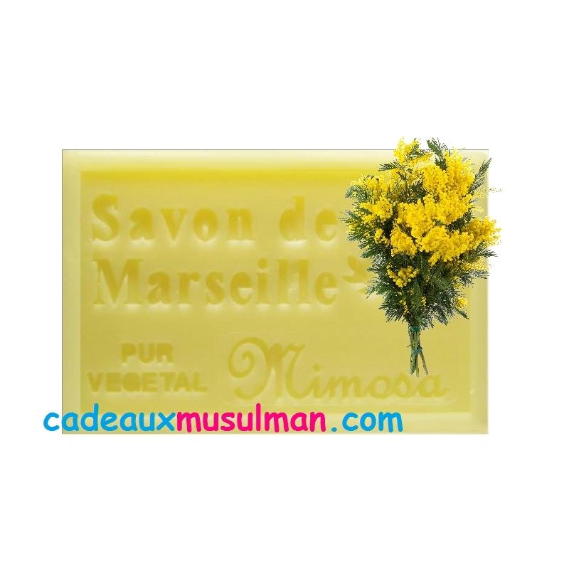 Savon de Marseille au mimosa