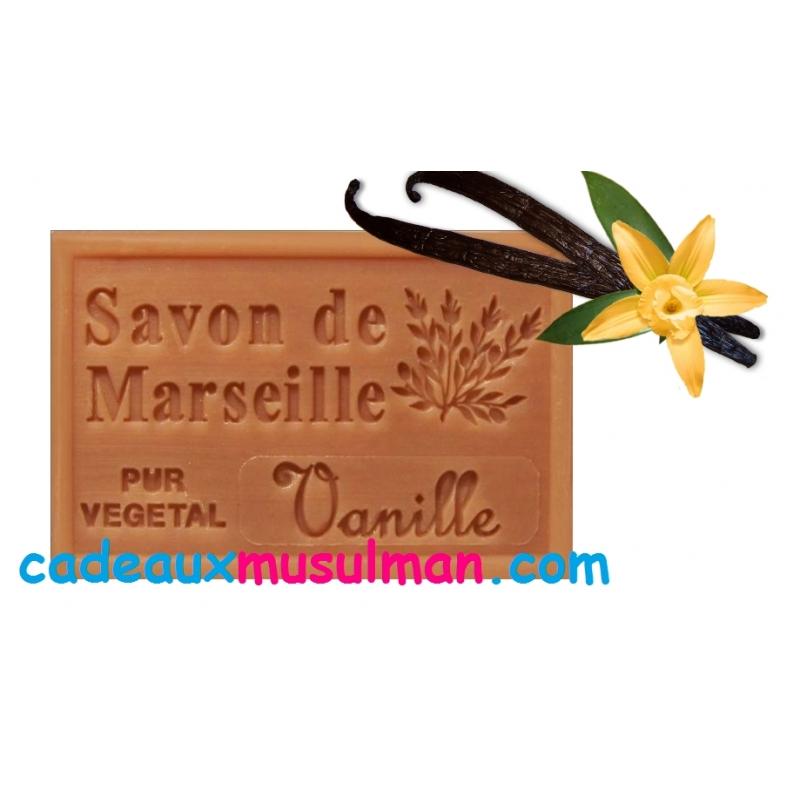 Savon de marseille à la vanille