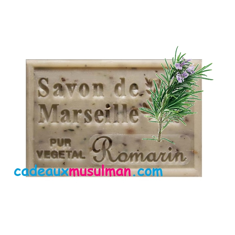 Savon de Marseille au romarin
