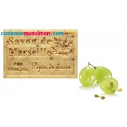 Savon de Marseille aux pépins de raisin