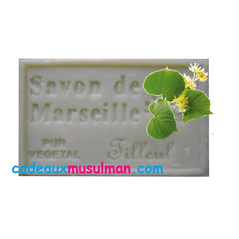 Savon de Marseille tilleul