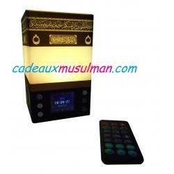 Horloge adhan Veilleuse Coranique