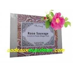 Savon rose sauvage