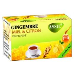 Thé Gingembre miel citron