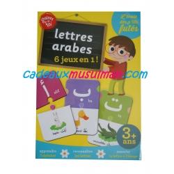 Lettres arabes - 6 jeux en 1!