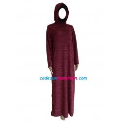 Abaya à capuche