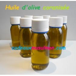 Huile d'olive coranisée
