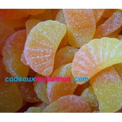 Quartiers de mandarine sucrés