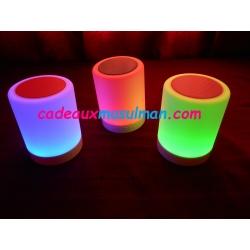 Veilleuse speaker bluetooth