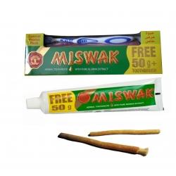 Denifrice miswak avec brosse à dent
