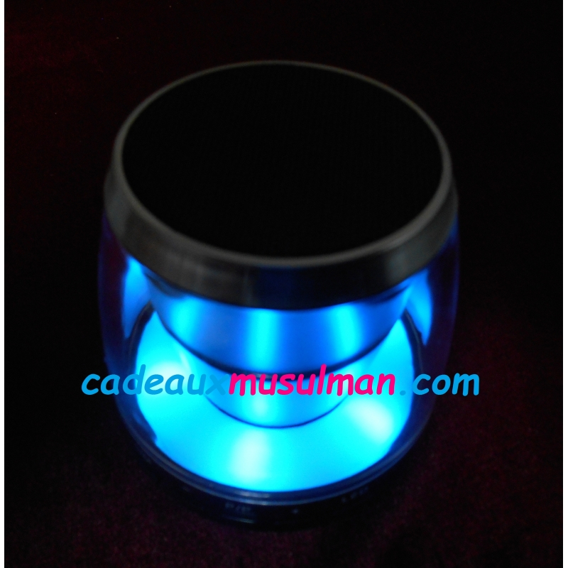 Speaker blutooth veilleuse coranique