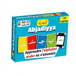 Jeu de cartes « Abjadiyya » - Apprendre l'alphabet arabe en s'amusant