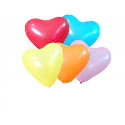 Ballon Gonflable Coeur  Multicolore