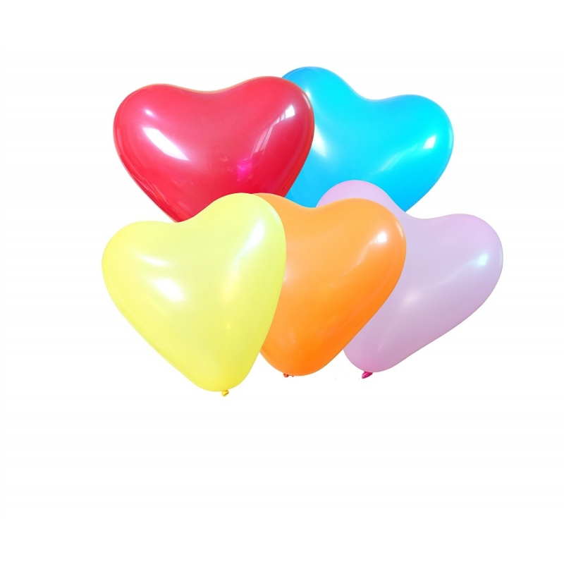 Ballon Gonflable Coeur  Multicolore