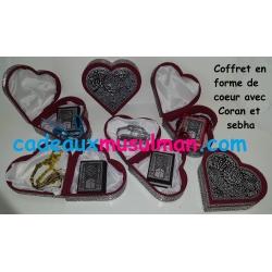 Coffret coeur Coran