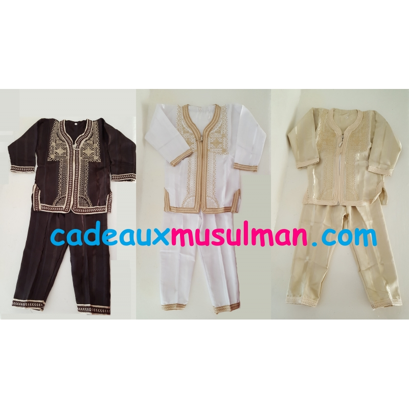 Ensemble traditionnel islamique
