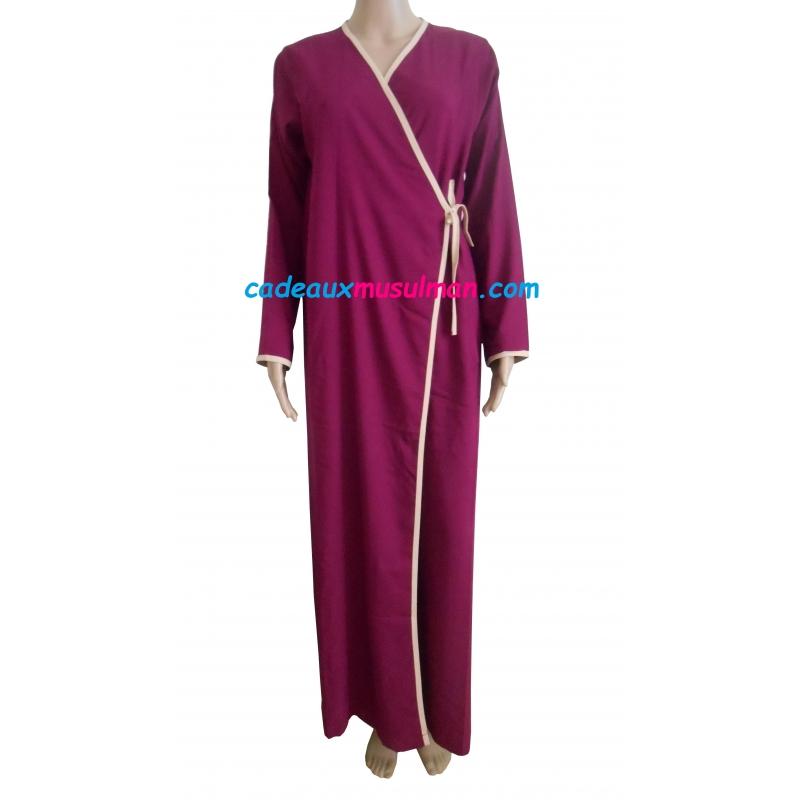 Robe longue portefeuille