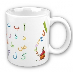 """Mug """"J'apprends à écrire l'arabe"""""""