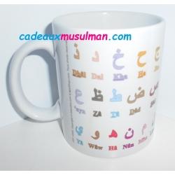 """Mug """"Alphabet arabe"""""""