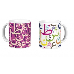 "Mug ""Lettres ararbe"""