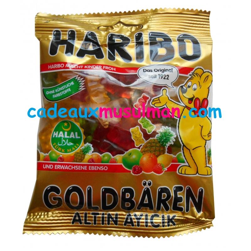 Bonbons Haribo Halal Oursons gélifiés