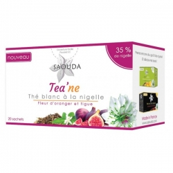Thé blanc à la nigelle