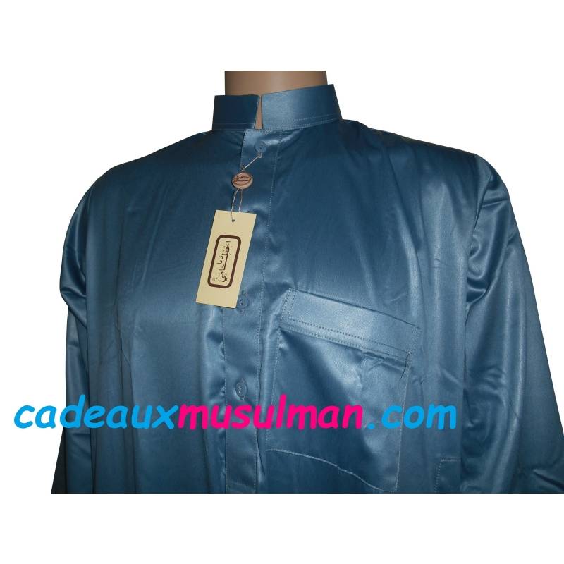 Qamis Al Hattami Bleu