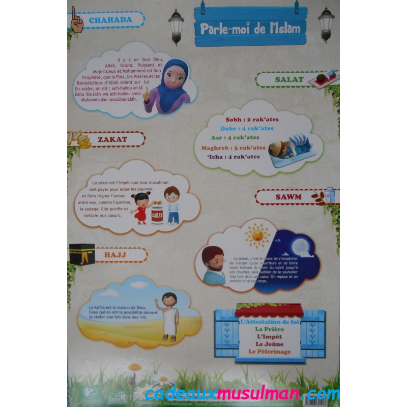 """Poster """"parle-moi de l'Islam"""""""