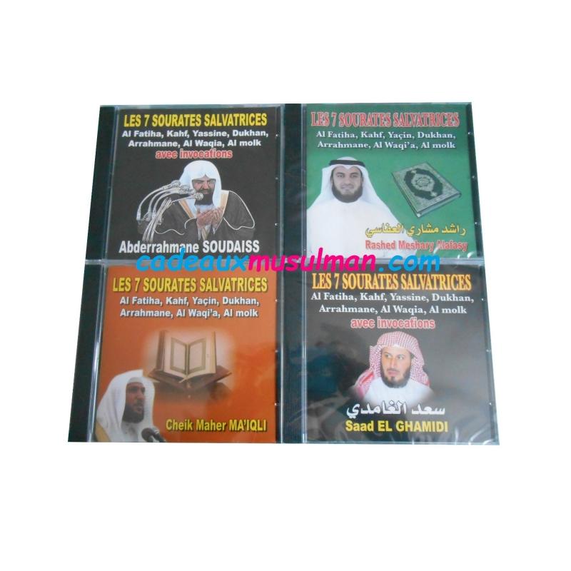 CD Les 7 sourates salvatrices