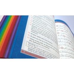 Coran arc en ciel (Français/Arabe)