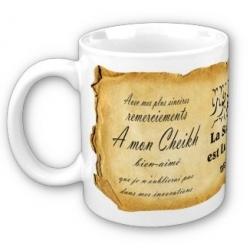 """Mug """"A mon Cheikh bien-aimé"""""""
