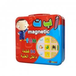 Lettres arabe magnétiques